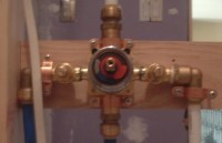 Shower Valve Installation Problem
