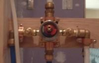 Shower Valve Installation Problem