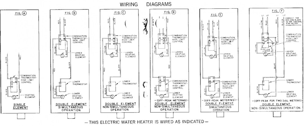 medium resolution of how does a dual element hwh work water heater wiring