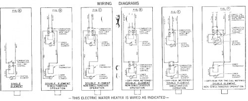 small resolution of how does a dual element hwh work water heater wiring