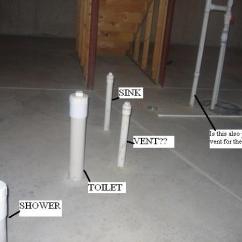Toilet Vent Plumbing Diagram Portable Generator Manual Transfer Switch Wiring Basement Bathroom Rough-in - Diy Home Improvement   Diychatroom