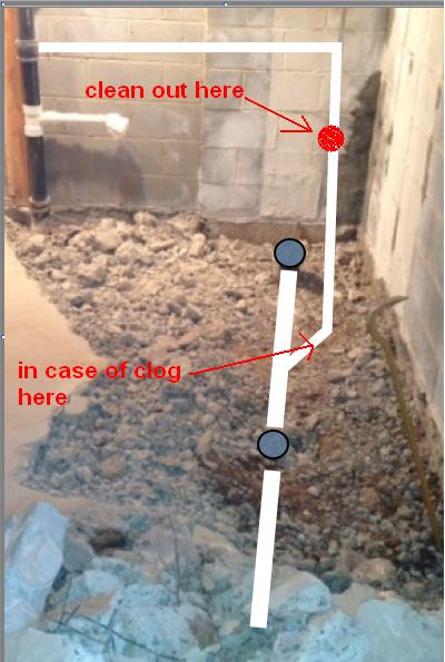 Venting Toilet And Shower Under Slab  Plumbing  DIY Home