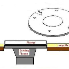 Toilet Flange Diagram Msd 6aln Wiring Do I Need Seal Junction Between Old And Plastic Extension Ring? - Kitchen & Bath ...
