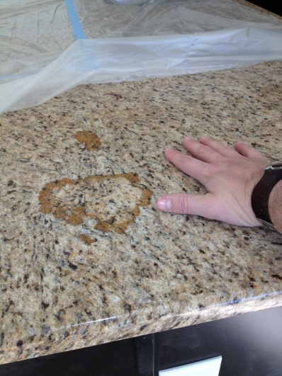 remodeling your kitchen grey tile poor quality granite installation - help! & bath ...