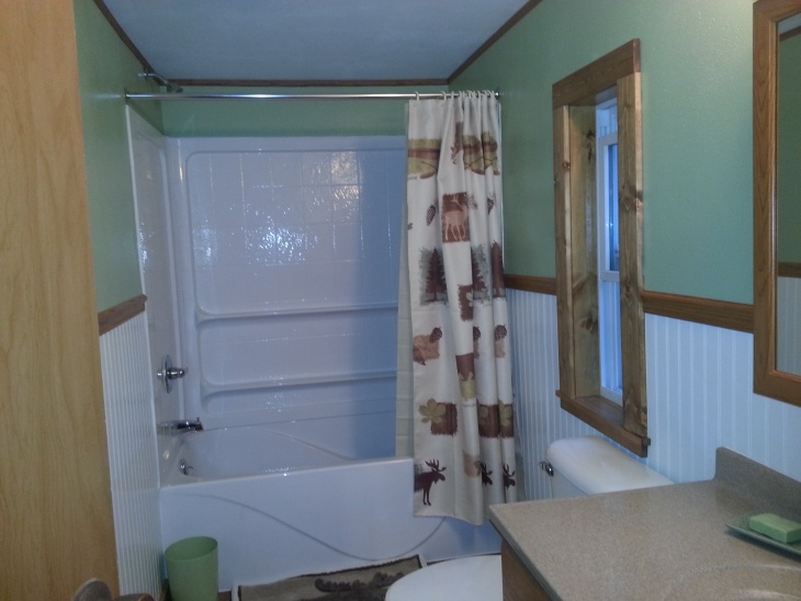 inexpensive kitchen remodel undercounter trash can mobile home bathroom - & bath remodeling ...