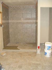 Tile Man Used Mastic Glue On Entrance To Shower - Tiling ...