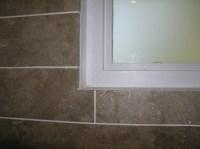 Waterproofing A Shower Window - Tiling, ceramics, marble ...
