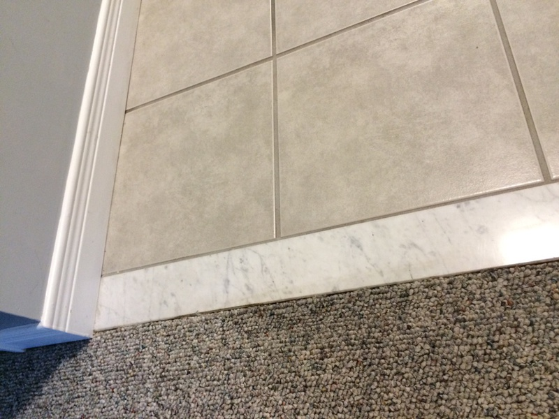How Do I Remove This Marble Threshold  Tiling ceramics