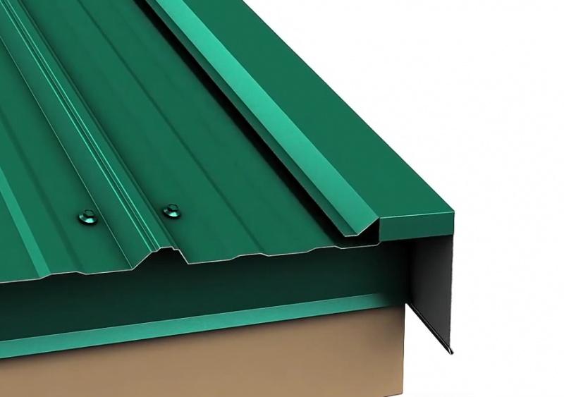 Metal Roof Rake Edge Installation  RoofingSiding  DIY