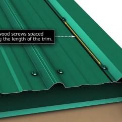 Gable Metal Roof Parts Diagram Mitsubishi Truck Wiring Roof. Rake Edge Installation. - Roofing/siding Diy Home Improvement | Diychatroom