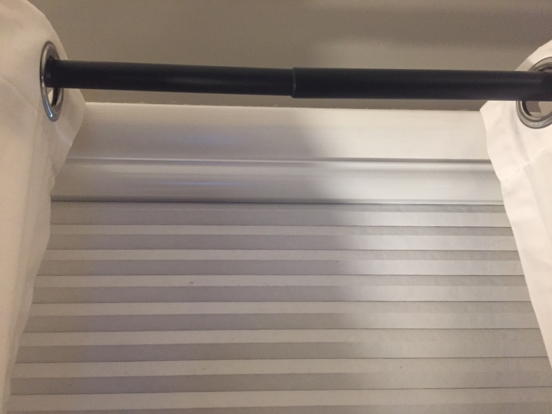 help with sagging drape rod and