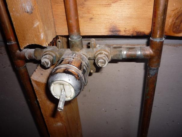 replace 25 yo delta shower valve diy