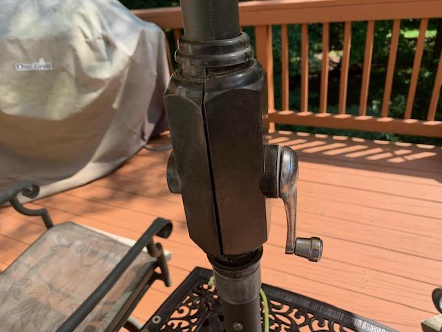 repair or replace patio umbrella crank