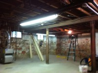 Paint Unfinished Basement Ceiling - Painting - DIY ...
