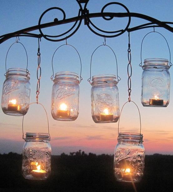 mason-jar-candle-holders