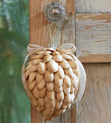 Pistachio Shell Ornaments