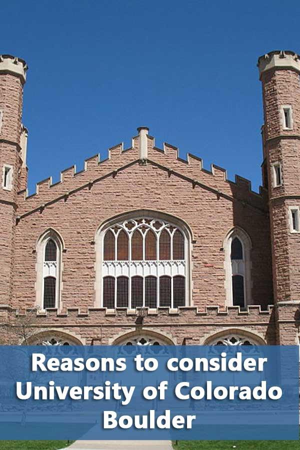 50-50 Profile: University of Colorado Boulder