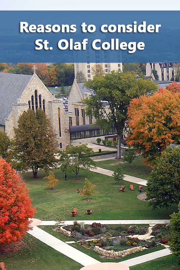 50-50 Profile: St. Olaf College