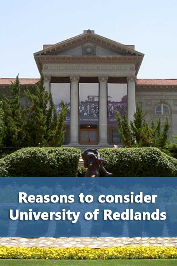 50-50 Profile: University of Redlands