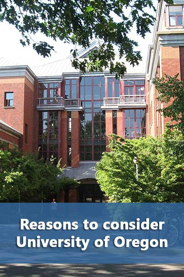 50-50 Profile: University of Oregon