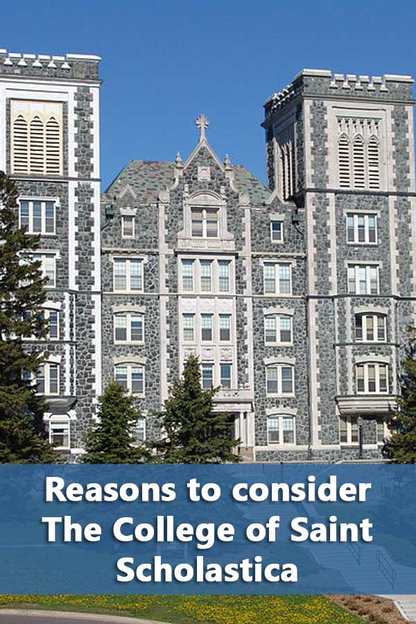 50-50 Profile: The College of St. Scholastica