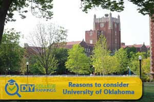 University of Oklahoma campus
