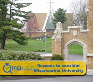 Misericorida University campus