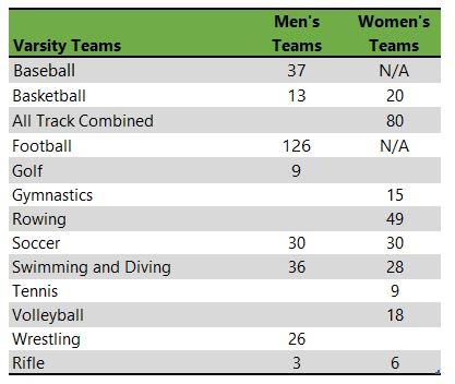 West Virginia University athletic teams