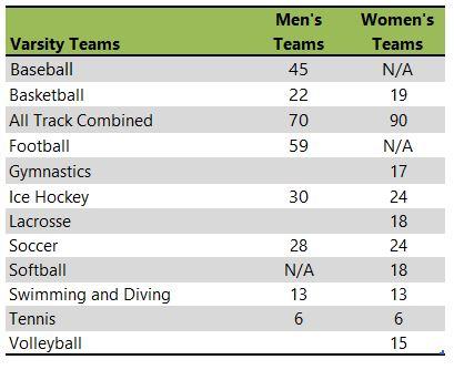 Hamline University athletic team listing