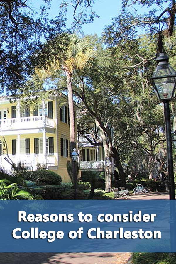 50-50 Profile: College of Charleston