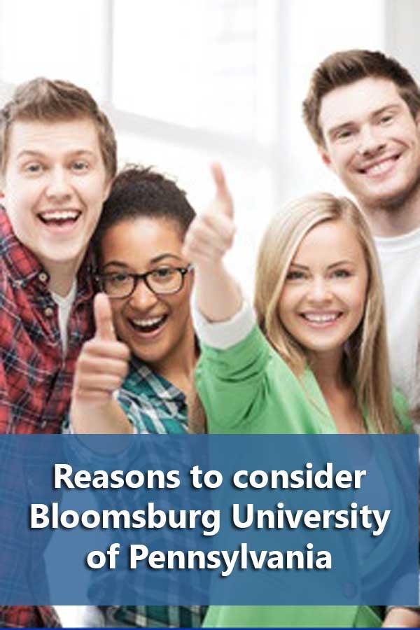 50-50 Profile: Bloomsburg University of Pennsylvania