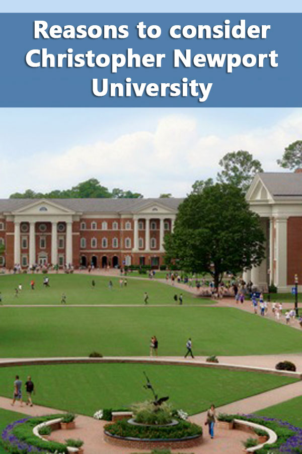50-50 Profile: Christopher Newport University