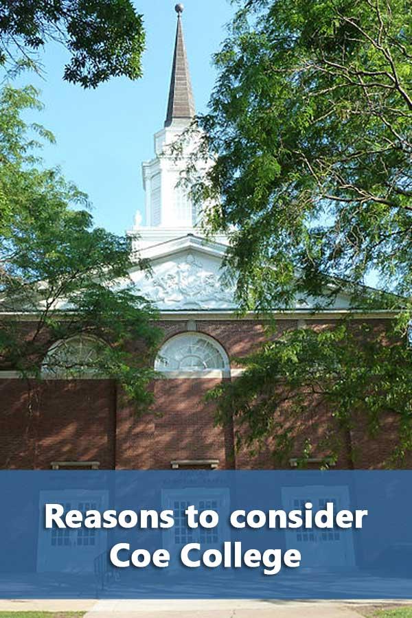 50-50 Profile: Coe College