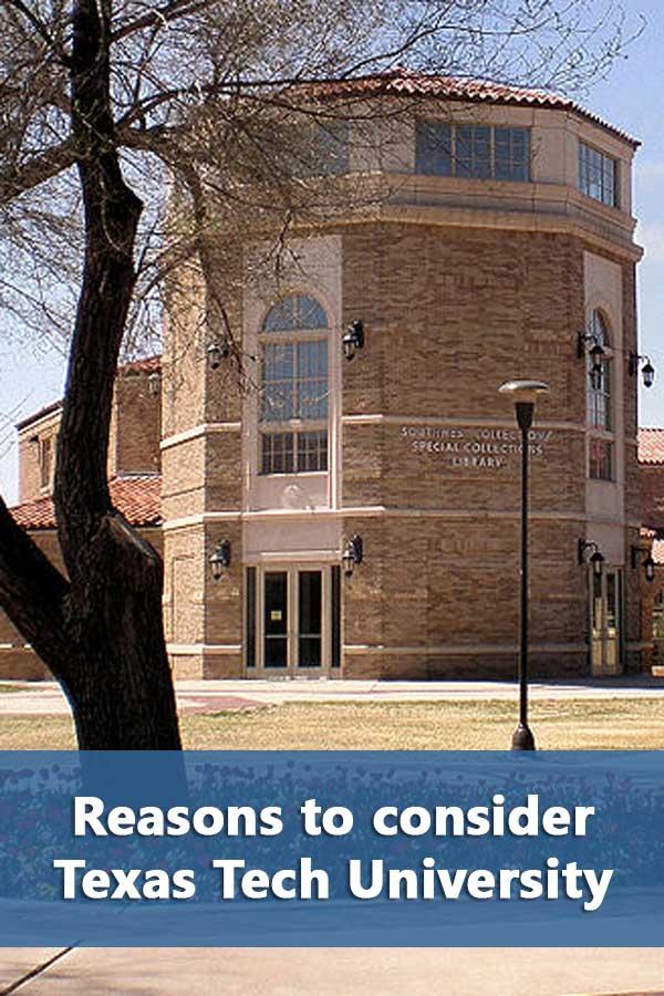 50-50 Profile: Texas Tech University