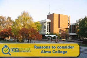 Alma College campus