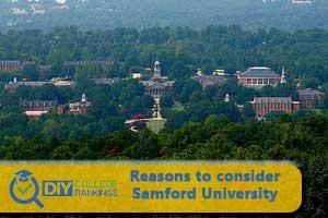 Samford University campus