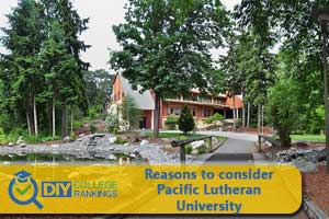 Pacific Lutheran University campus