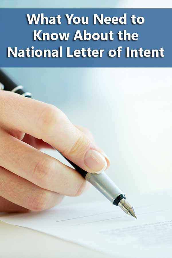 5 ways to get smart about the national letter of intent do it