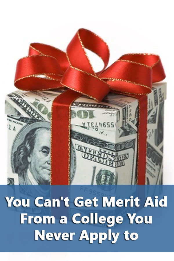 Improve your chances for merit aid by targeting colleges most likely to provide generous merit aid based on your qualifications.  #CollegeAdmissions
