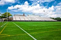 Stadium on football field representing NAIA Colleges
