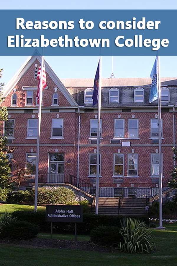 50-50 Profile: Elizabethtown College