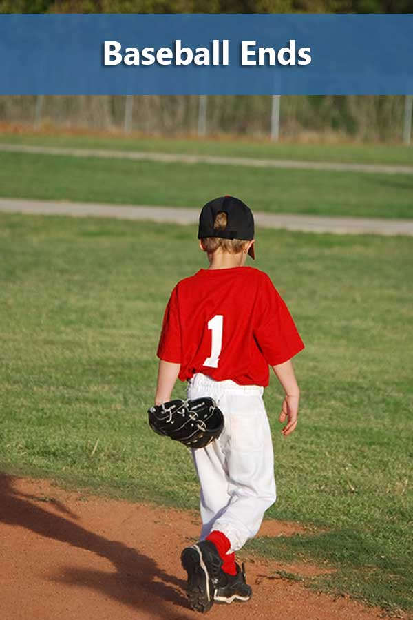 How choosing to play baseball chances affects other decisions.