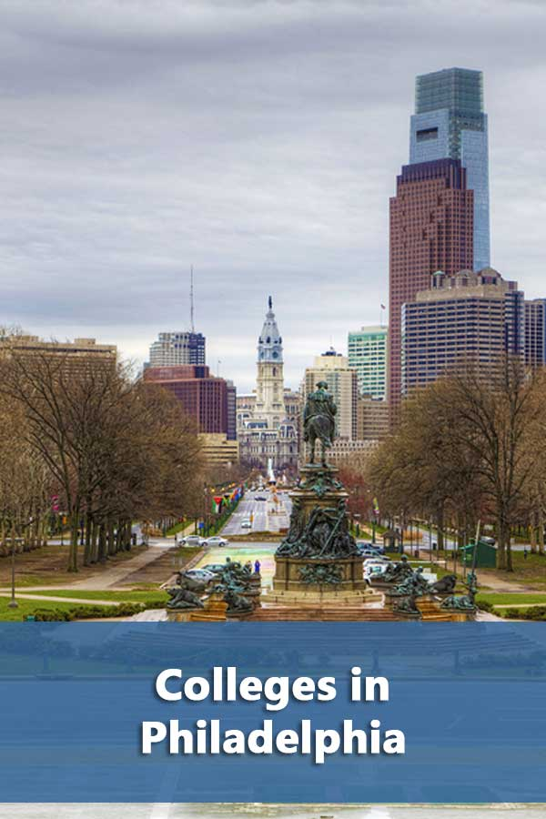 Colleges in in Philadelphia and surrounding area that have at least a 50% graduation rate and accept at least 50% of students. #CollegeAdmissions