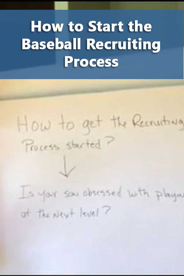 The questions you need to ask before you even start the college baseball recruiting process. Depending on your answers, you can save a lot of money.