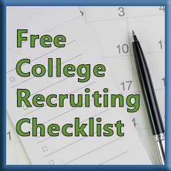 Free College Recruiting Checklist