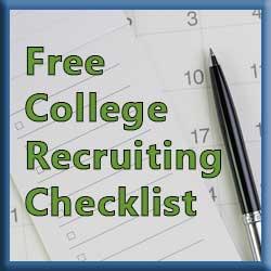 Free College Recruiting Checklist