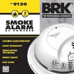 Kitchen Smoke Detector Blue Rugs Which Type Of Is Best For The Diycontrols Blog Brk Sc9120 And Co Alarm Uses Ionization Technology