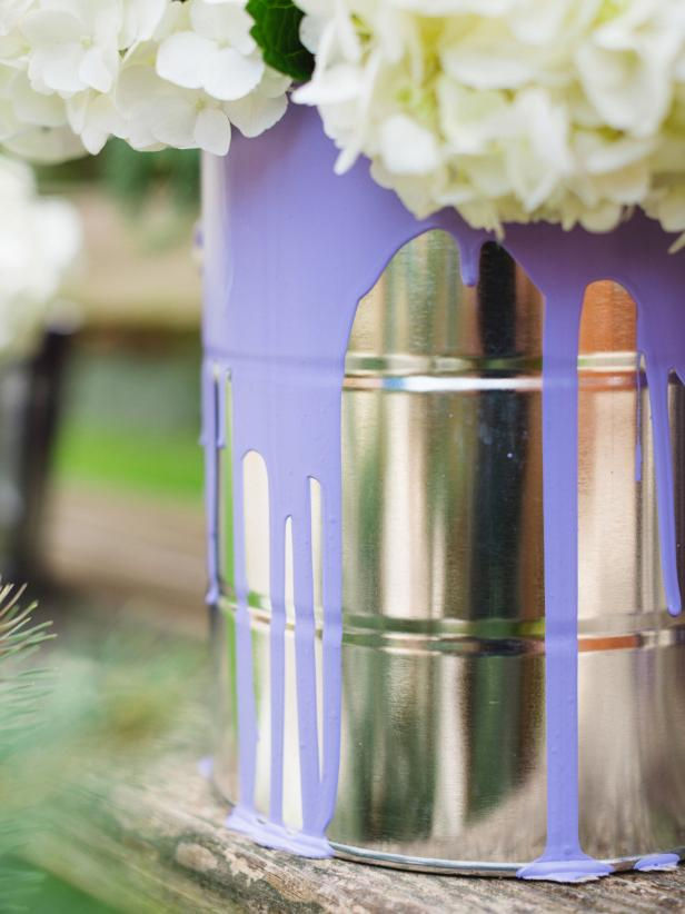 Paint Can-Planters
