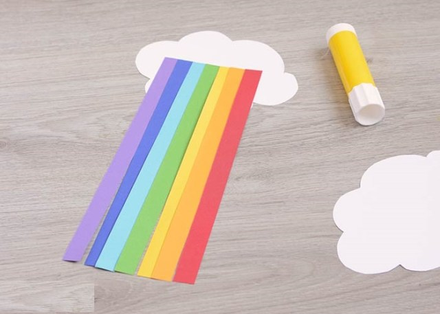 DIY kids rainbow crafts