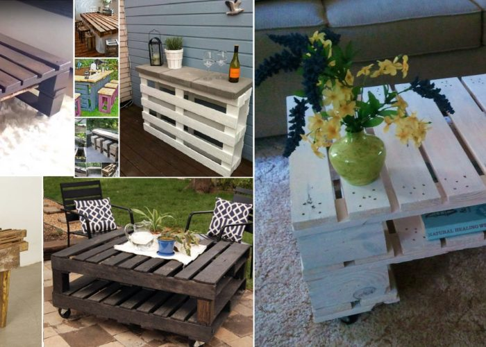 Make-Recycled-DIY-Pallet-Table-Ideas